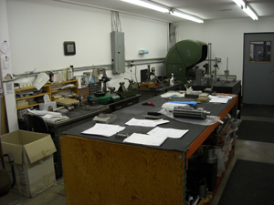 Our machine shop in Arvada CO